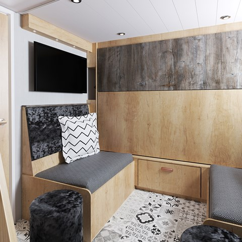 S-Pod 6 Escape Rear Lounge