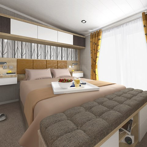 Toronto Lodge Master Bedroom Butterscotch Option