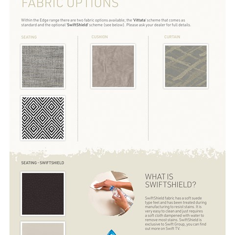 Edge Fabric Options