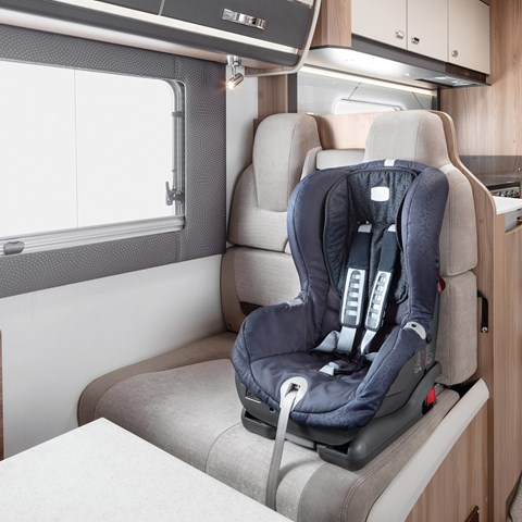 Kon-Tiki Travelling Seats With Isofix