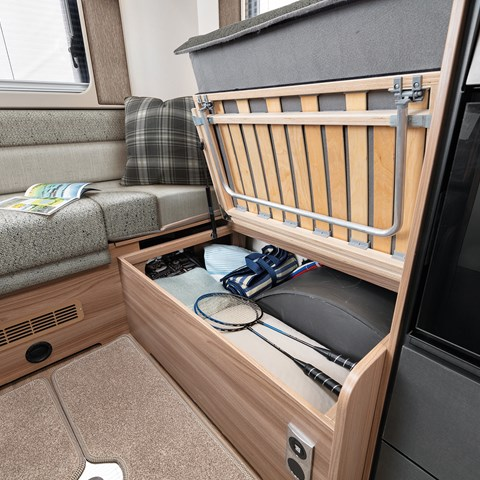 Escape Compact Underseat Storage