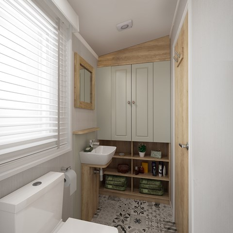 Vendee Holiday Home Washroom