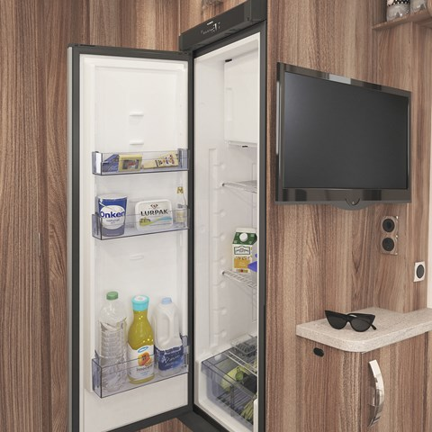 Challenger X Tall Slimline Fridge