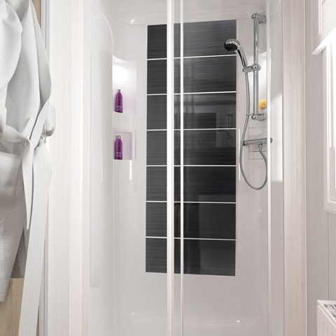 Bordeaux Escape 38 x 12 2B Shower
