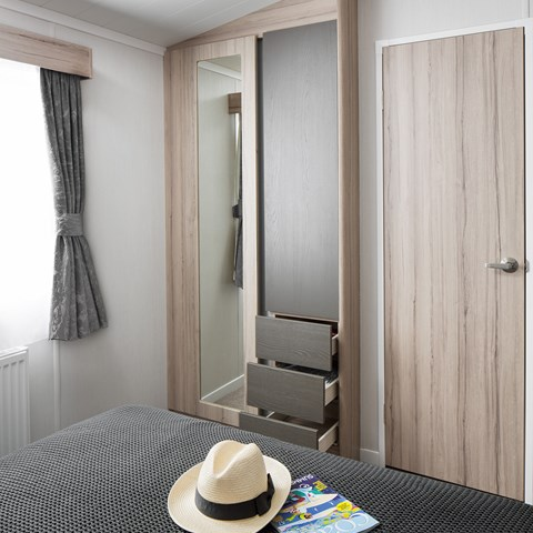 Antibes 38 x 12 2B Wardrobe And Mirror