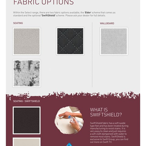 Select Fabric Options