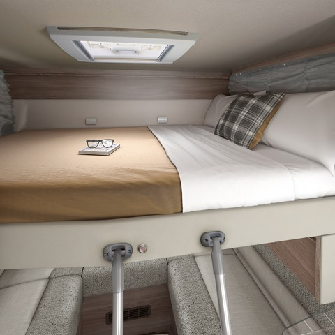 Escape Compact C404 Drop Down Bed