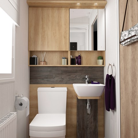 Bordeaux 38 X 12 2B Washroom