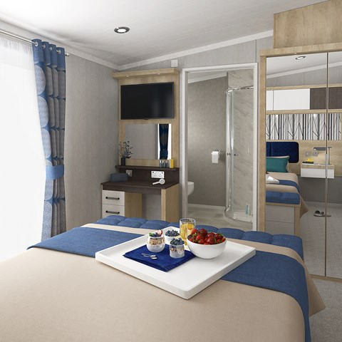 oronto Lodge Master Bedroom 2 (3 Bed)