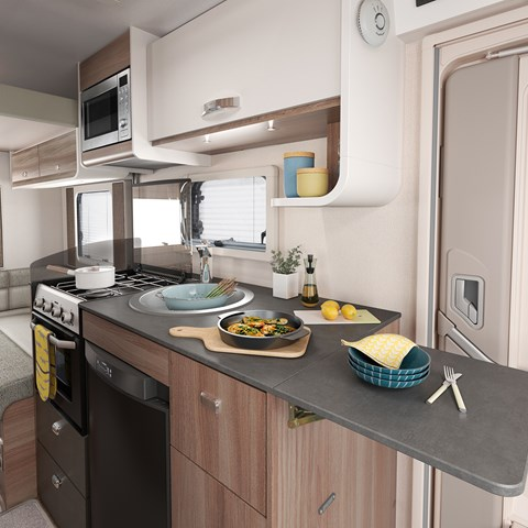 Escape Compact C404 Kitchen