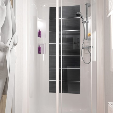 Bordeaux 38 X 12 2B Shower