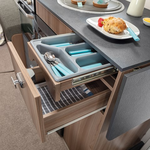 Escape Compact Cutlery Drawer