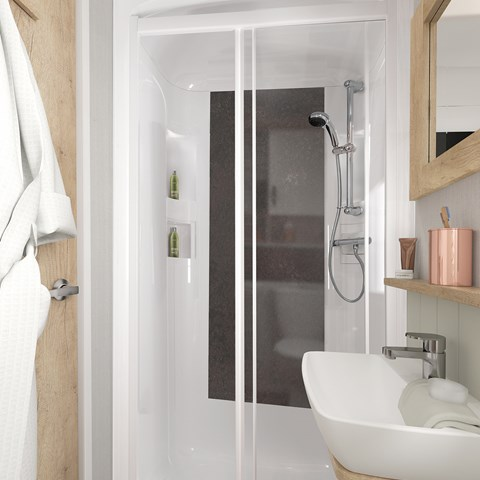 Vendee Holiday Home Shower